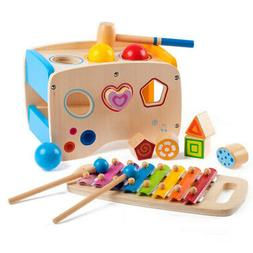 Creative Wooden Learning Hammering & Pounding Toys Intellige