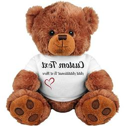 Cute Custom Teddy Bear Gift: 8 Inch Teddy Bear Stuffed Anima