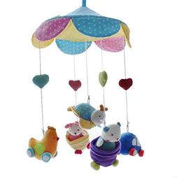 SHILOH Deluxe Baby Plush Crib Mobile with 60 songs Musical B