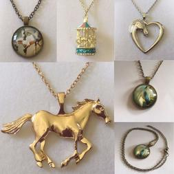 DF Equine Gifts for Children or Adults: Pendants on Chains F