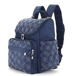 Diaper Bag Backpack by Warmmouse with Stroller Straps Stylis