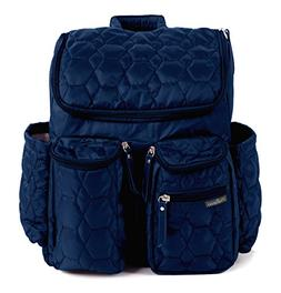 Wallaroo Diaper Bag Backpack with Stroller Straps, Wet Bag a