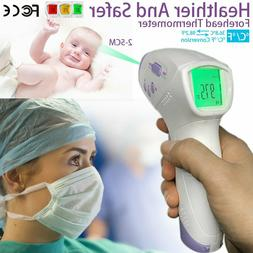 Digital Non-Contact Forehead Infrared Thermometer for Adults
