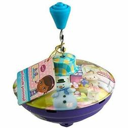 Disney Doc McStuffins Spinning Metal Top