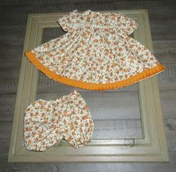 """Handmade Doll Clothes for 23"""" - 24"""" Baby Dolls - """"Fall Delig"""