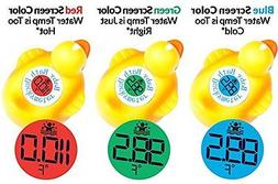 Duckymeter, the Baby Bath Floating Rubber Duck Toy + Bath Tu