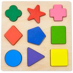 Educational Toys For 3 Year Old Shape Puzzle Toddler Cogniti