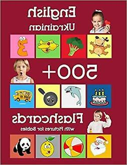 English Ukrainian 500 Flashcards with Pictures for Babies: L