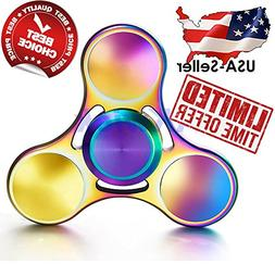 Fidget Spinner Titanium 2017 USA New Style Rainbow Colorful