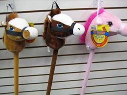 My First Horse, 29 Inch Stick Horse, Giddy-up and Go Pony w/
