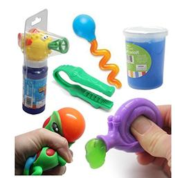 Curious Minds Busy Bags Fish Bubble Fine Motor Squeeze Stren