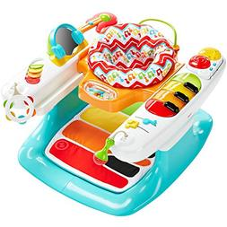 Fisher-Price Light and Sounds Step 'n Play Piano 4-in-1 Baby