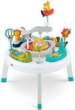 Fisher-Price 2-in-1 Sit-to-Stand Activity Center, Spin 'n Pl