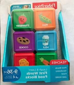 Fisher Price - Laugh & learn - First Words - Food Blocks For