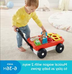 Fisher-Price Laugh & Learn Pull & Play Learning Wago  Baby T