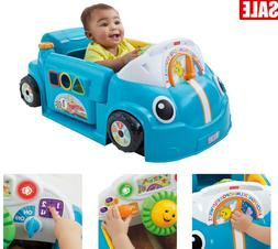 Fisher-Price Laugh & Learn Smart Stages Crawl Around Car Gif