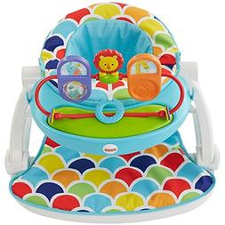 Fisher Price Sit-Me-Up Baby Floor Seat With Toy Tray, Blue