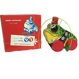Fisher Price Toyfest Gran'pa Frog Pull Toy