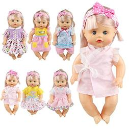 JING SHOW BUSSINESS Pack of 6 Fit 12 Inch Alive Baby Doll Go