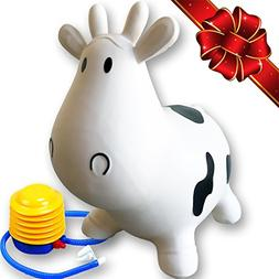 FLASH SALE   Inflatable Cow Bouncer Seat - Best for Physical