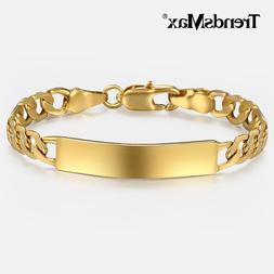 <font><b>Baby's</b></font> Bracelet Gold Filled Figaro Chain