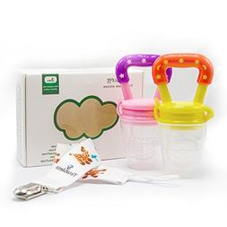 Baby Food Feeder - Tinabless Baby Fresh Fruit Feeder Teethin
