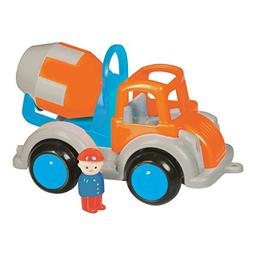 "Viking Large Fun Color Cement Truck 10"" Vehicle with Removab"