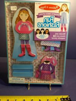 Melissa And Doug: Fun Fashions, Magnetic Dress-Up Doll; Toys