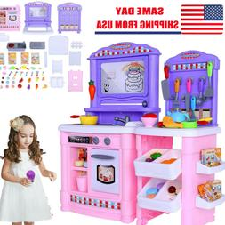 Fun Play Food Set for Kids Kitchen Cooking Kid Toy Pretend P