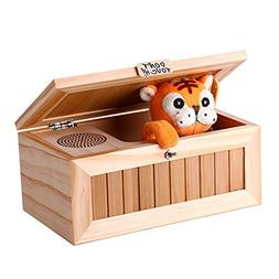Emorefun Funny Tiger Don't Touch Useless Box With Surprises