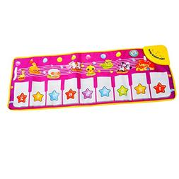Baby Genius Step-To-Dance Junior Piano Mat, YIFAN Kids Touch