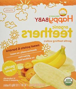 Happy Baby Gentle Teethers Organic Teething Wafers Banana Sw