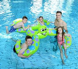 Joyin Toy Giant Octopus Float Rings holds up to 5 person Gre