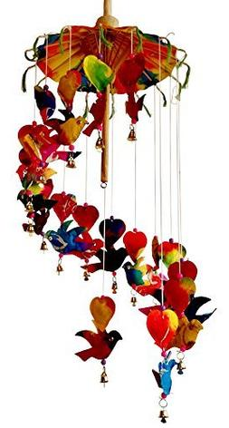 Gift on Christmas - Mulberry Paper Mobile - Birds of Paradis