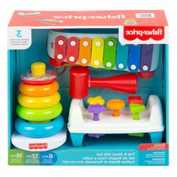 Gift Set for Childhood Development Tap and Stack Colorful Ba
