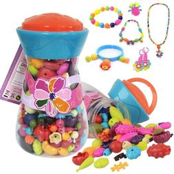 Gift Set For Girls Jewelry Making Kit Pretend Play Toys 5 6