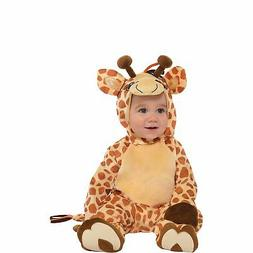Giraffe Costume for Babies, Includes Jumpsuit and Booties