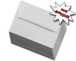 Gray Pastel A2 Envelopes  for up to 4-1/8x5-1/2 Cards Respon