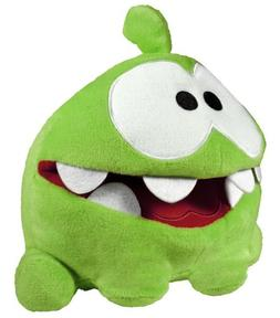 """Cut The Rope 8"""" Hand Plush with Sound, My Pal Om Nom"""
