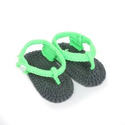 Somzie Handmade Crochet Baby Shoes Knit Infant Toddler Shoes