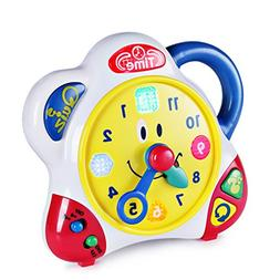 Happkid Teaching Clock Time Learning for Kids, Happy Hour Le