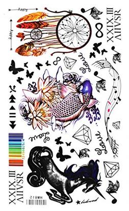Spestyle new and fashion design Horse, fish, music, feather