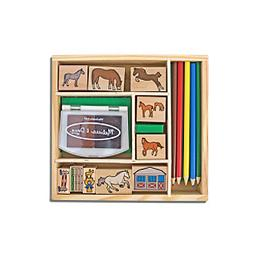 Melissa & Doug® Horses Stamp Set