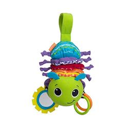 Hug and Tug Musical Bug 2 Clacker Rings Peek See Mirror & Kn