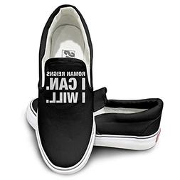 TAYC I Can I Will New Design Canvas Shoes Black