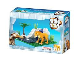 Brictek Children's Ice Age Diego Interlocking Building Brick