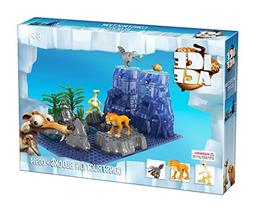 Brictek Children's Ice Age Sid & Diego & Scrat Interlocking