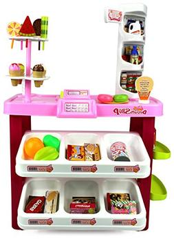 Velocity Toys Ice Cream Desserts Shop & Market Children's Ki