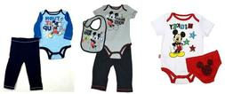 Disney Infant Baby Boy's Outfits Mickey Mouse Bodysuit Diape