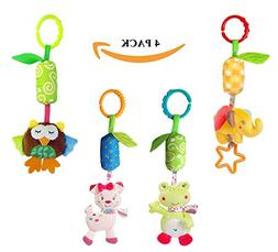 Infant Baby Rattle Toys, Kids Stroller Hanging Bell, Newborn